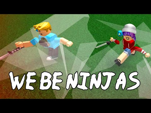 ROBLOX BE A PARKOUR NINJA | SLICE N DICE | RADIOJH GAMES & GAMER CHAD