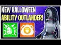 NEW Fortnitemares Halloween Outlander! Willow Hero Review & Gameplay | Fortnite Save The World