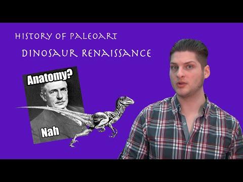 The History of Paleoart | The Dinosaur Renaissance