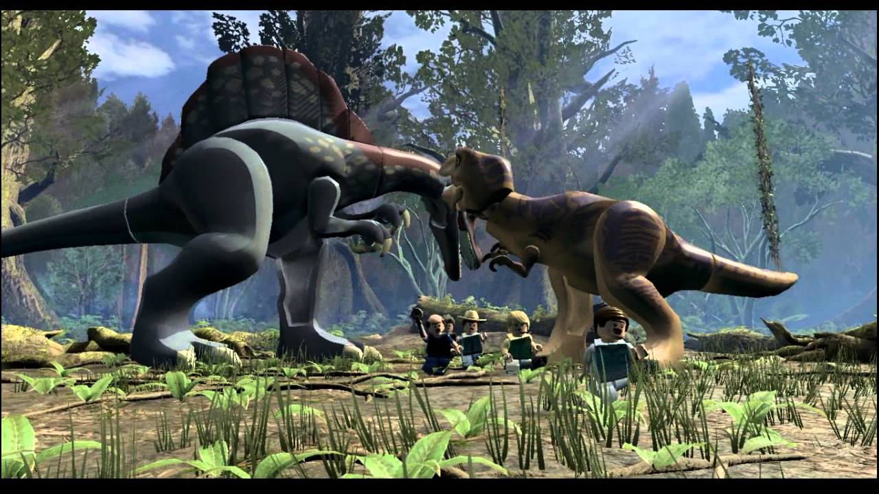Lego Jurassic World 12 Walka Dinozaurów Youtube