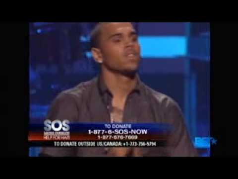 Chris Brown - Crawl/With You (SOS Haiti Performance)