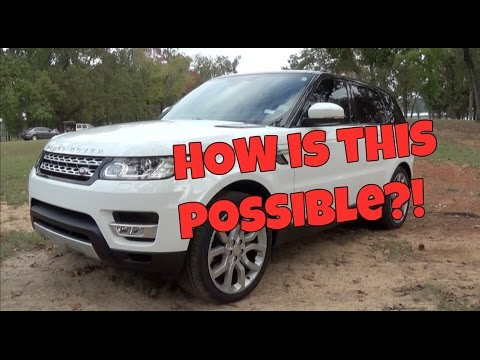 SUV or Sports Car With a Lift Kit? | 2015 Land Rover Range Rover Sport HSE Review
