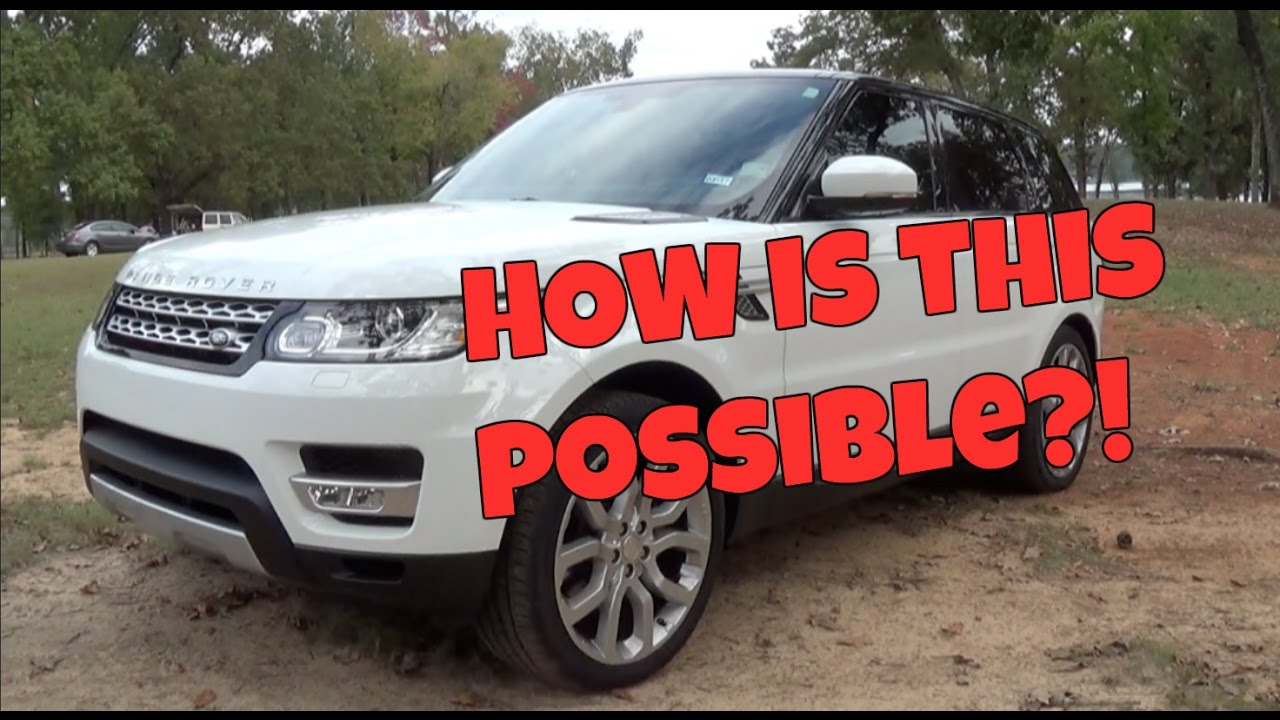 Suv Or Sports Car With A Lift Kit 2015 Land Rover Range Rover