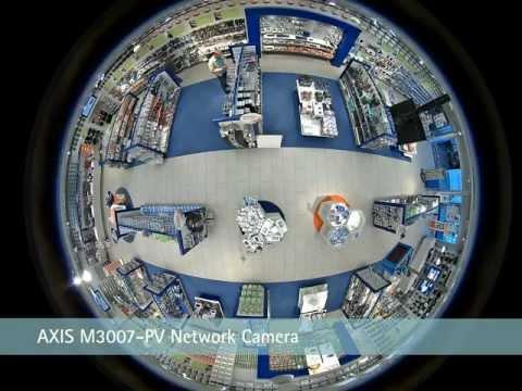Axis 360-degree fixed surveillance camera