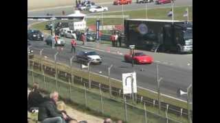 Buick Park Avenue VS Chevrolet Corvette @American Sunday 2012