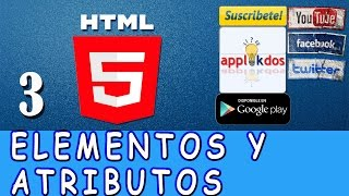 Curso  de HTML5 - 03 - Elementos HTML  - Atributos - Etiqueta Meta