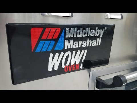 Dominos Pizza conveyor belt Oven Install MiddleBy Marshall Lincoln XLT How to DIY