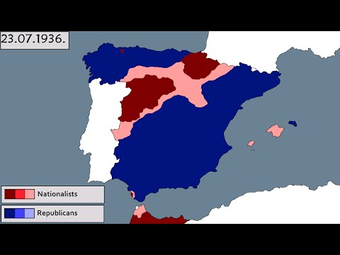 Spanish Civil war [Every day]