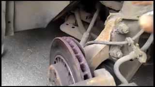 Opel Vectra B 1 6 16V Замена передних тормозных дисков и колодок