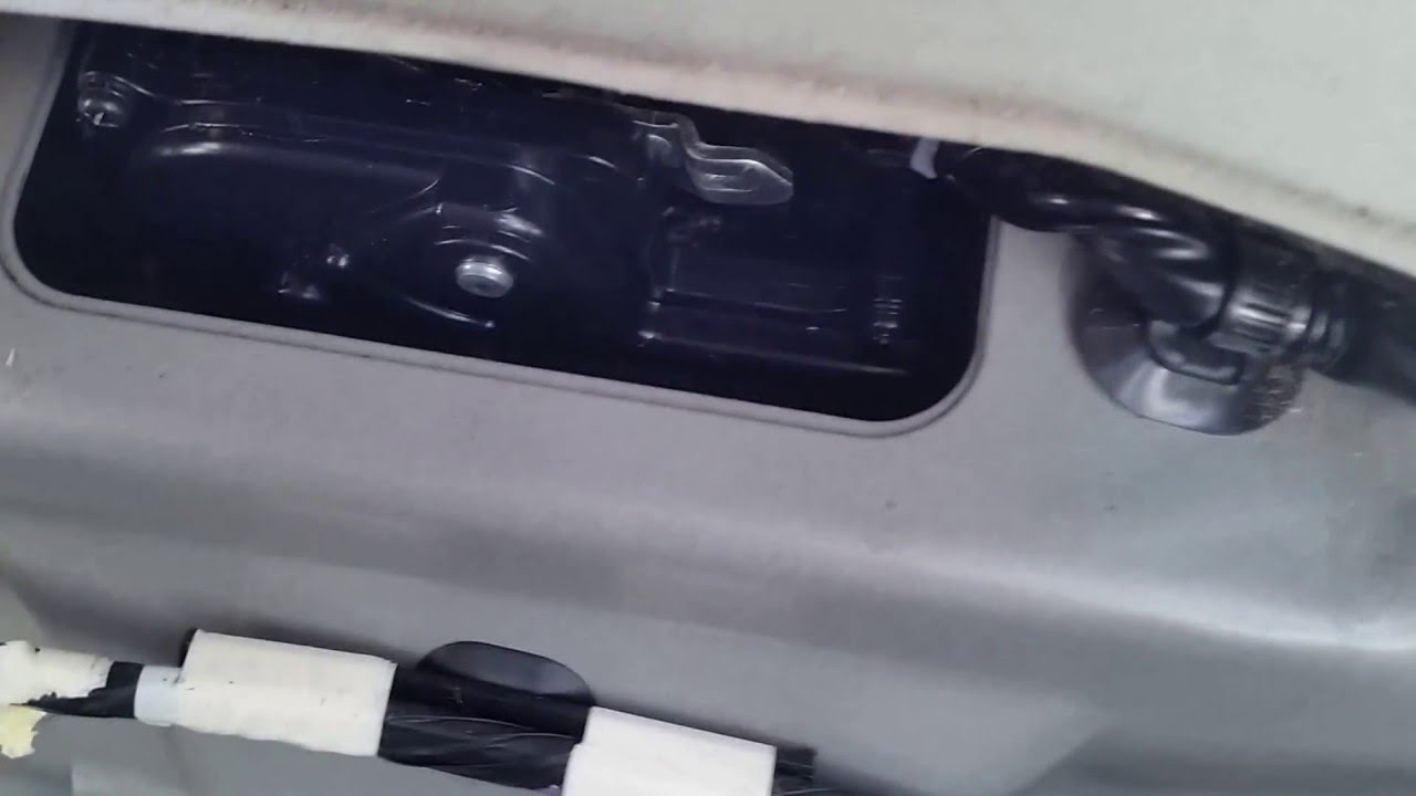 How To Open Rear Hatch On 2008 Toyota Prius