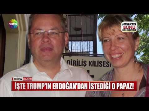 İşte Trump'ın Erdoğan'dan istediği o papaz!