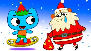 Котики, вперед! - Подарок - развивающие мультики для детей - 41 серия
