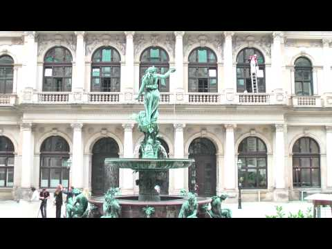 Very short visit of Hamburg city center