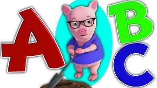 ABC Canzoni in italiano | educativi video per bambini | filastrocche | ABC Song | Farmees Italiano