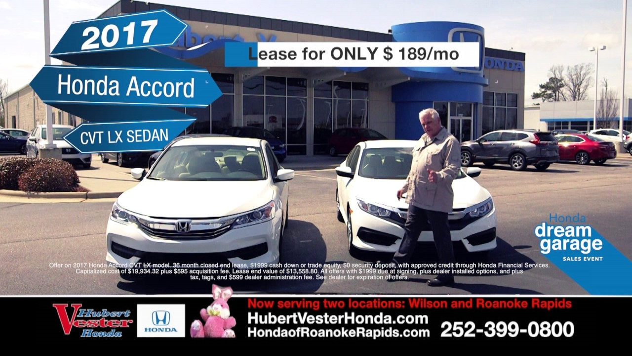 Hubert Vester Honda The V Team Loves When A Deal Comes Together