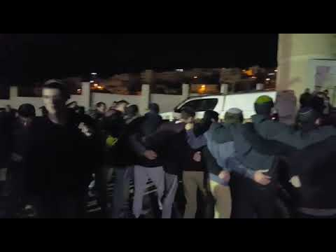 """צפו: הפגנה בכניסה לשכונת אבו סנינה בחברון בעקבות רצח אורי אנסבכר הי""""ד"""
