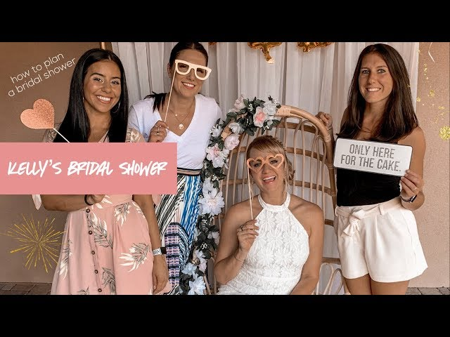 How to Throw a Bridal Shower | adaatude