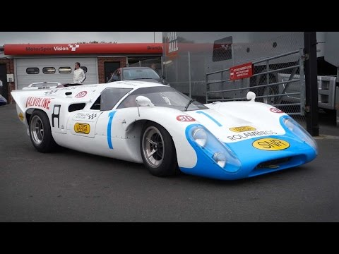 GT and Le Mans style historic racing cars