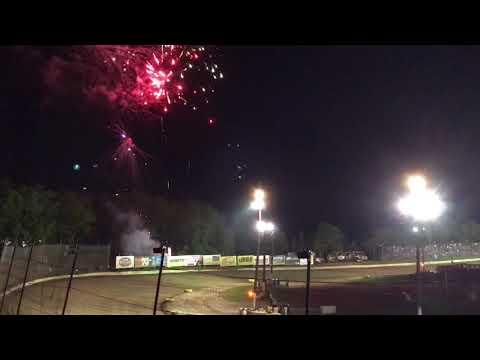 2017 PA Speedweek Grandview Speedway Fireworks