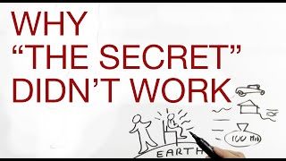 WHY 'THE SECRET' DIDN'T WORK explained by Hans Wilhelm