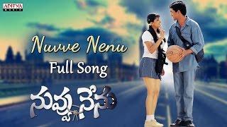 Nuvve Nenu Song || Nuvvu Nenu Movie || Uday Kiran, Anitha