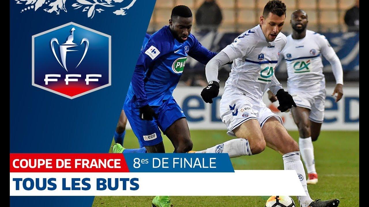 Coupe de france 8es de finale tous les buts i fff 2018 youtube - Coupe de france retransmission ...
