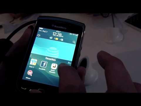 BlackBerry Torch 9800 Video First Look!