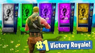 HARDCORE Vending Machine ONLY CHALLENGE in Fort...