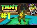 TMNT 3 Mutant Melee Прохождение 1 Файтинг с Ужасной Графикой ЗА ЛЕОНАРДО mp3