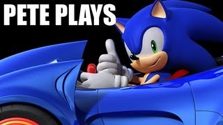 Pete Plays: Sonic & Sega All-Stars Racing (Xbox 360)
