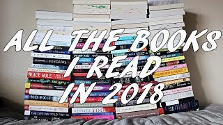 ALL the books I read in 2018 + STATS