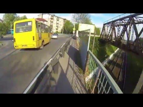 Львів на велосипеді. Від Рясного-2 до Володимира Великого. Bike riding in Lviv 4.