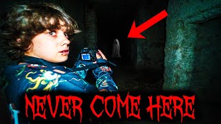 Ghost Captured On Camera (Very Scary) Terrifying Experience At Evil Haunted Asylum