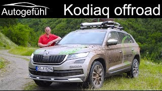 Skoda Kodiaq Scout FULL OFFROAD REVIEW 2019 @ Skoda Euro Trek - Autogefühl
