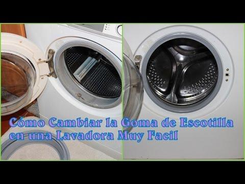 Como Cambiar La Goma De Escotilla En Una Lavadora Muy Facil Youtube