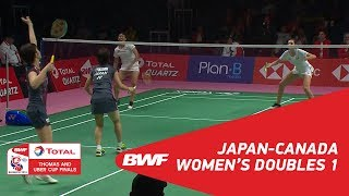 TU Cup C1 JAPCAN MATCH 02 BWF 2018