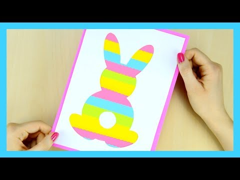 How To Make Silhouette Easter Bunny