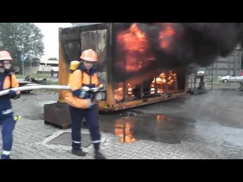 Jugendfeuerwehr Dietzenbach - Übung am Tag der offenen Tür 2013