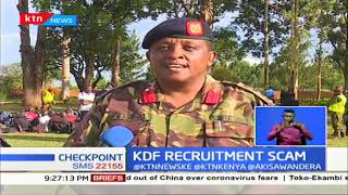Youth with fake KDF recruitment letters arrested
