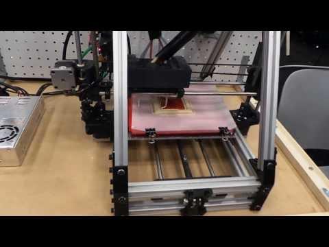 Watch A 3-D Printer Make A Pizza