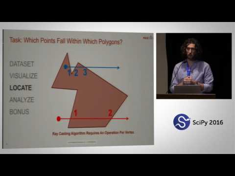 Large Scale Geospatial Analytics with Python, Spark, and Impala | SciPy 2016 | Evan Wyse