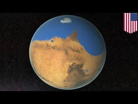 Un océan primitif sur Mars