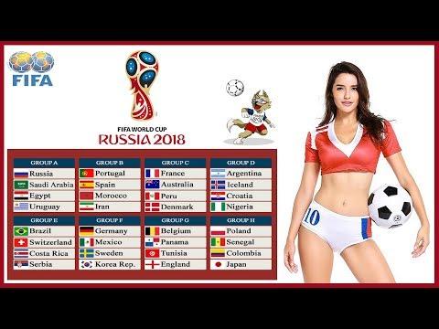 Klasemen Kualifikasi Grup Piala Dunia Russia 2018 - FIFA World Cup Russia 2018
