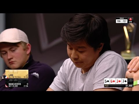Lam Makes a Huge Fold at the PokerStars Championship Monte Carlo