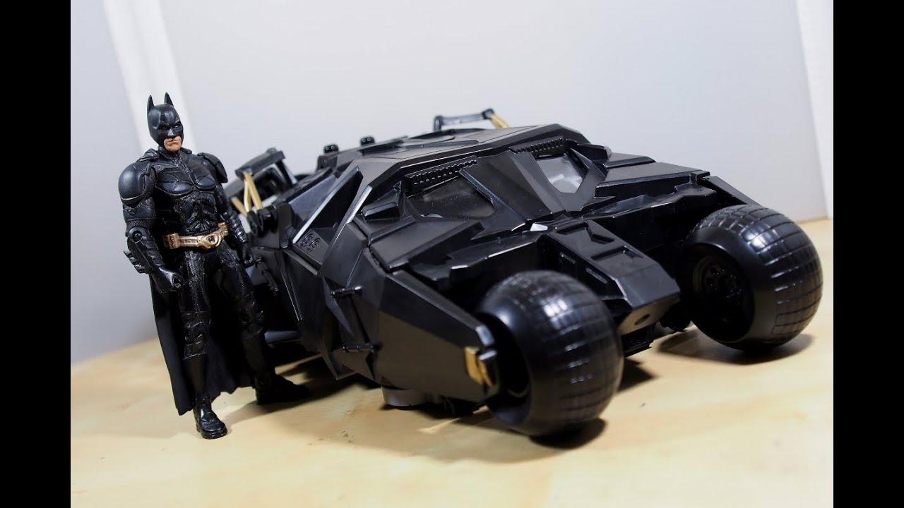 The Dark Knight Batman Stealth Launch Batmoblie Vehicle Mattel M1113