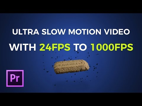 How to shoot super slowmo without having a highspeed camera | Adobe Premiere Pro | Tutorial thumbnail