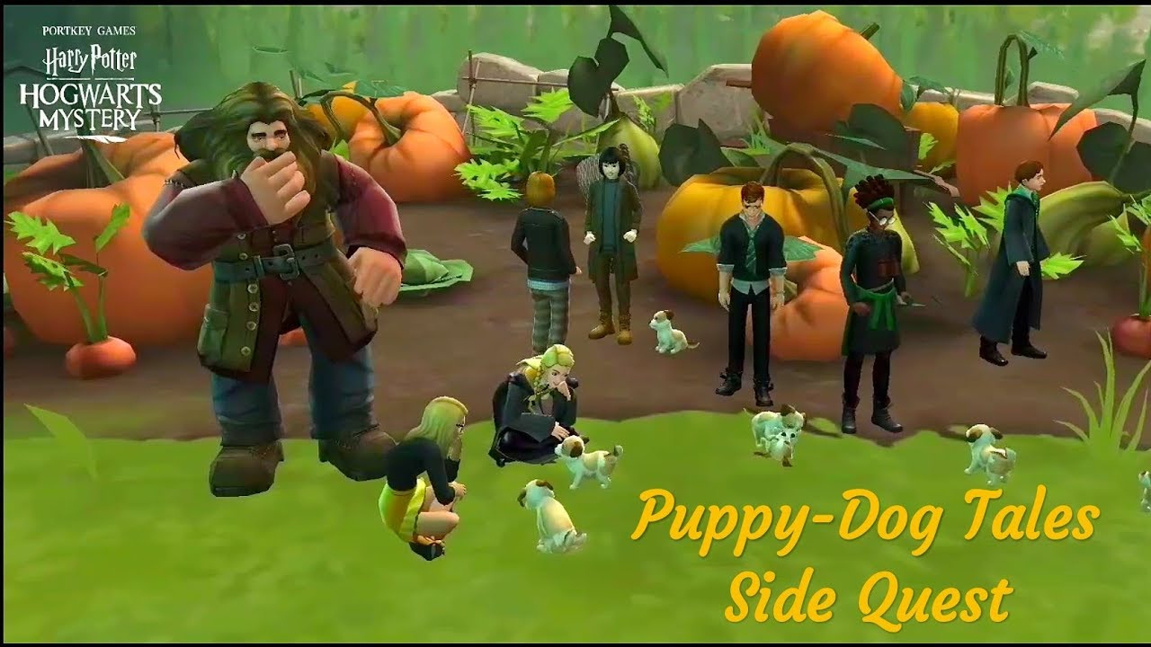 Puppy Dog Tales Side Quest Harry Potter Hogwarts Mystery I