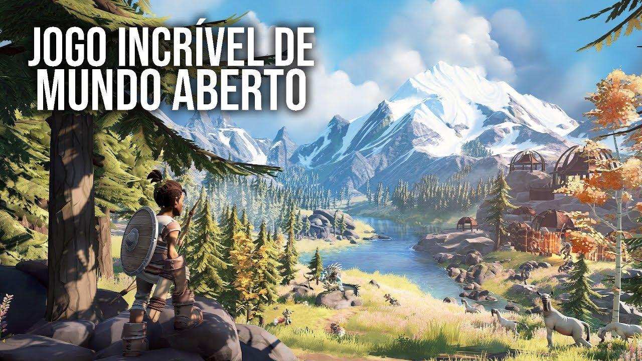 Experiência DIFERENCIADA num Jogo de Mundo Aberto | Pine Gameplay em Português PT-BR