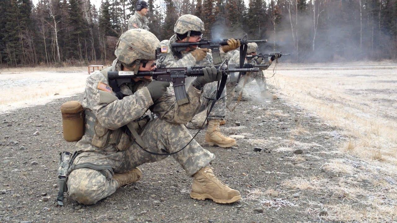 U.S. Army Alaska Marksmanship competition - YouTube