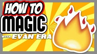 10 FIRE Magic Tricks REVEALED! - How To Magic!